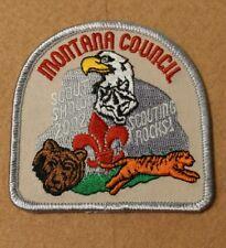 MONTANA Council - SCOUT SHOW 2002 - SCOUTING ROCKS  A01068