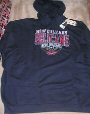 NEW NBA New Orleans Pelicans Hooded Hoodie Sweatshirt 5XL XXXXXL BIG Men NEW NWT