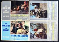 Fotobusta Herausforderung Ok Corral Burt Lancaster Kirk Douglas B R111