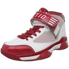 Ektio Para hombres Zapatos deportivos baloncesto post Up Blanco Tamaño UK 12 (47)