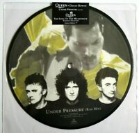 "NEW Queen David Bowie Under Pressure Bohemian Rhapsody 7"" Vinyl 45 PICTURE DISC"