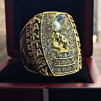 Fantasy Football 2017 Championship Trophy Ring +Clear Display Case Cube SIZES