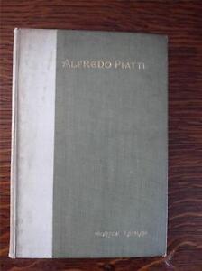 Antique Book Rare Alfredo Piatti A Sketch by Morton Latham 1901 Musical Interest