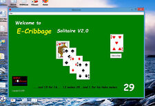 E-Cribbage Challenge - A unique Solitaire Computer Game unlike any other