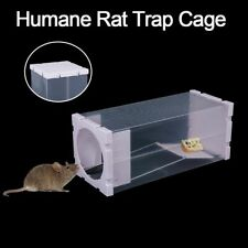 Durable Humane Lightweight Rat Trap Cage Rodent Box No Poison Bait Trap Station