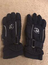 Next Navy Blue Ski Finger Gloves Size 3-6year