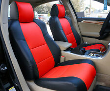ACURA TSX 2009-2013 IGGEE S.LEATHER CUSTOM FIT SEAT COVER 13 COLORS AVAILABLE