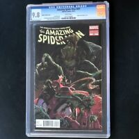 Amazing Spider-Man #691 (2012) 💥 CGC 9.8 💥 Kubert Lizard Variant Cover! Comic