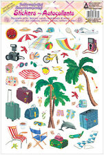 A4 Sticker Sheet Holiday Beach Travel Fun More in Store