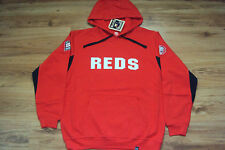 CINCINNATI REDS MLB MAJESTIC TIMELESS DOMINATOR COOPERSTOWN HOODED SWEATSHIRT