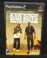 Bad Boys: Miami Takedown PS2 Playstation 2 COMPLETE Game 1 Owner Near Mint Disc