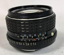 (NO RETURN) SMC Pentax-M 50mm f1.4 lens K mount 60% condition