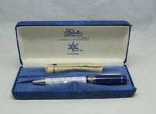 Delta Israel 50th Aniv sterling 925 with crystal Ballpoint Pen