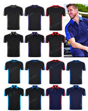TWO TONE T-SHIRTS & POLOS FOR WORK, SPORTS CASUAL WEAR. SIZES XS-5XL. WICKING