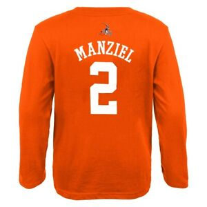 """Johnny Manziel NFL Cleveland Browns """"Mainliner"""" Long Sleeve T-Shirt Youth"""