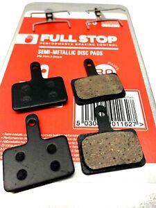 Full Stop Disc Brake Pads - B01S Semi-Metall  Acera, Altus, Deore, Deore 2 Pairs