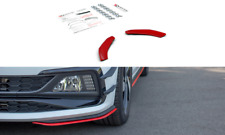 CUP Spoilerlippe Seiten Flügel Ansatz für VW Golf GTI MK6 Spoiler Splitter ABS