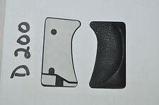 Genuine NUOVO NIKON D200 Posteriore GRIP GOMMA (Riparazione Parte) copre FREEPOST UK Venditore