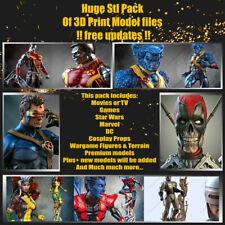 STL Mega Pack 5000 STL files 3600 GB 3D Pack Ultimate All files of market STL 3D
