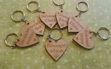 bridal party / wedding favour keyrings / magnets