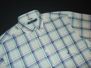 NWT, NAUTICA Men's Button Front Shirt ~ Large ~ Long Sleeves ~ Plaid ~ New