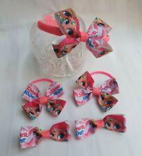 Shimmer and Shine headband, hair band, clips set 5 pcs