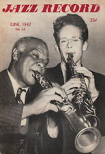 JAZZ RECORD ~ EARLY JAZZ MAGAZINE ~ JUNE - 1947
