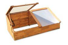 Frühbeet Kräuterbeet Anzuchtbeet aus Holz mit 2 Deckeln ca. L116xT54xH42/19 cm