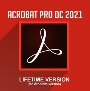 Adobe®Acrobat Pro DC 2021✅ Windows ✅ Lifetime ✅ automatic-activation