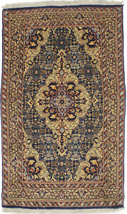 Floral Classic Design Thick Pile 3X5 Handmade Oriental Rug Wool Decor Carpet