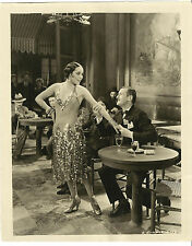 "Dolores Del Rio & Ullrich Haupt - Original 1930  8""X10"" Photograph ""The Bad One"""