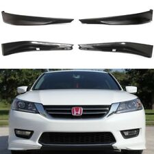 Fit For 2013-2015 Accord Sedan 4D HFP Style Front Bumper Lip Splitter Spoiler PP