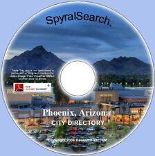 AZ - Phoenix 1964 City Directory on CD - Images + Text Searchable