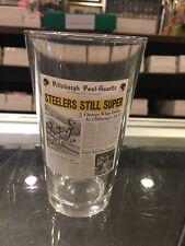 PITTSBURGH STEELERS STILL SUPER POST GAZETTE  DRINKING GLASS