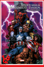 SPIDER-MAN et AVENGERS Juin 2017 Hardcover Marvel Events Panini Finch # NEUF #