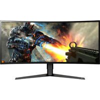 "LG 34GK950F-B 34"" UltraWide QHD Curved LED FreeSync Gaming Monitor"
