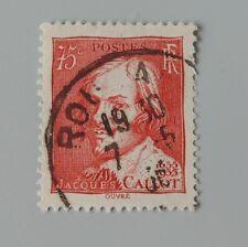 France 1935 306 jacques callot YT 306 oblitéré