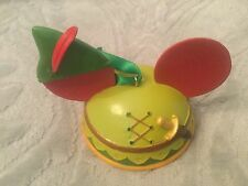 Disney Parks Peter Pan Holiday Christmas Mickey Mouse Ear Hat Ornament NEW