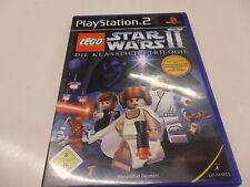 PlayStation 2 PS 2 Lego Star Wars II-la clásica trilogía