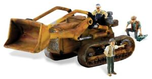 HO Scale - Fritz's Front End Loader with 3 figures - WOO-AS5558