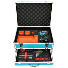 Makita DHP482 18V Combi Drill + 70 Piece Accessory Set - No Battery / Charger