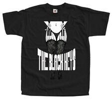 The Black Keys V5, band poster, T-SHIRT DTG (BLACK BIRCK NAVY) S-5XL
