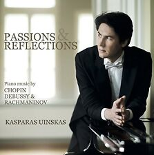 Kasparas Uinskas - Passions & Reflections [New CD] Jewel Case Packaging