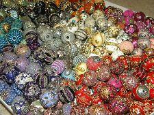 NEW (40) Jesse James BOHO/ELITE Only beads 6-25mm lot RANDOMLY PICKED LOT