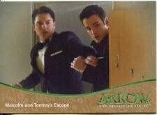 Arrow Season 1 Bronze Parallel Base Card #70 Malcolm and Tommy?s Escape