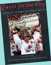 Quest For The Cup: A History of the Stanley Cup Finals 1893-2001 HC VG/EX SCARCE