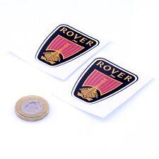 Rover Badge Sticker Autocollant Classique Voiture Vinyle 50 mm x2 SD1 25 45 75 MG