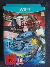 BAYONETTA  Edición limitada 1 y 2 PAL MULTI IDIOMA (español) - NINTENDO WII U