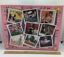 Golden Barbie Nostalgia Puzzle 550pc New MINT!!!!!