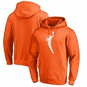 WNBA Gear Fanatics Branded Primary Logo Big & Tall Pullover Hoodie - Orange